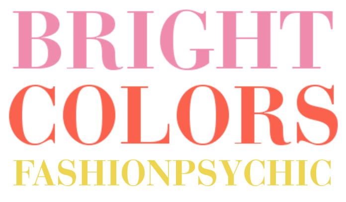 Pink, Orange andYellow