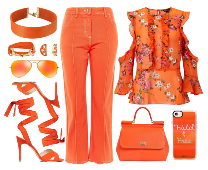 orangemonochrome